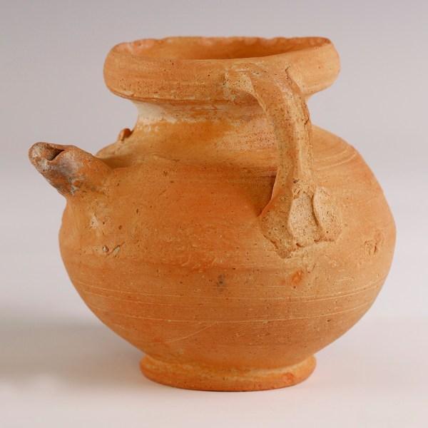 Nabataean Terracotta Perfume Bottle