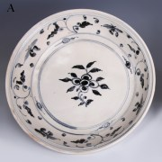 selection of hoi an blue and white serving dishes 4