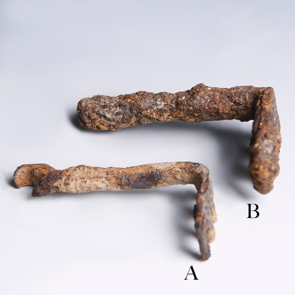 Selection of Ancient Roman Iron Keys