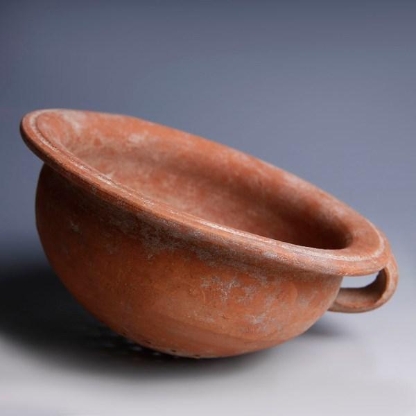 Nabataean Red Terracotta Colander