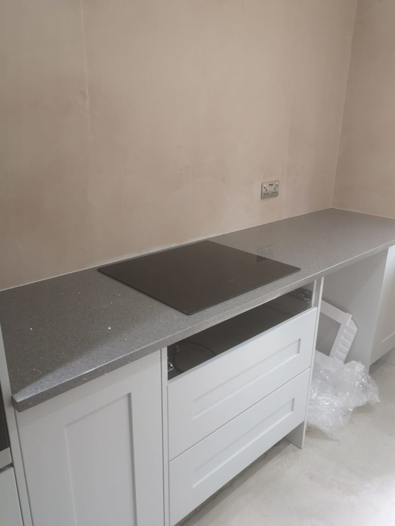 30mm Grey Starlight Fitted In Cantley Antiquity Marble