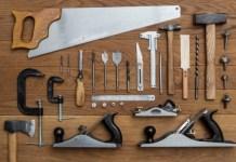 alat dan bahan untuk woodworking