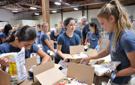 Doing Well by Doing Good – Antis featured in Orange County Catholic Newspaper