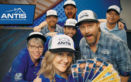 Antis Roofing Sends Out Thousands of Holiday Giving Cards
