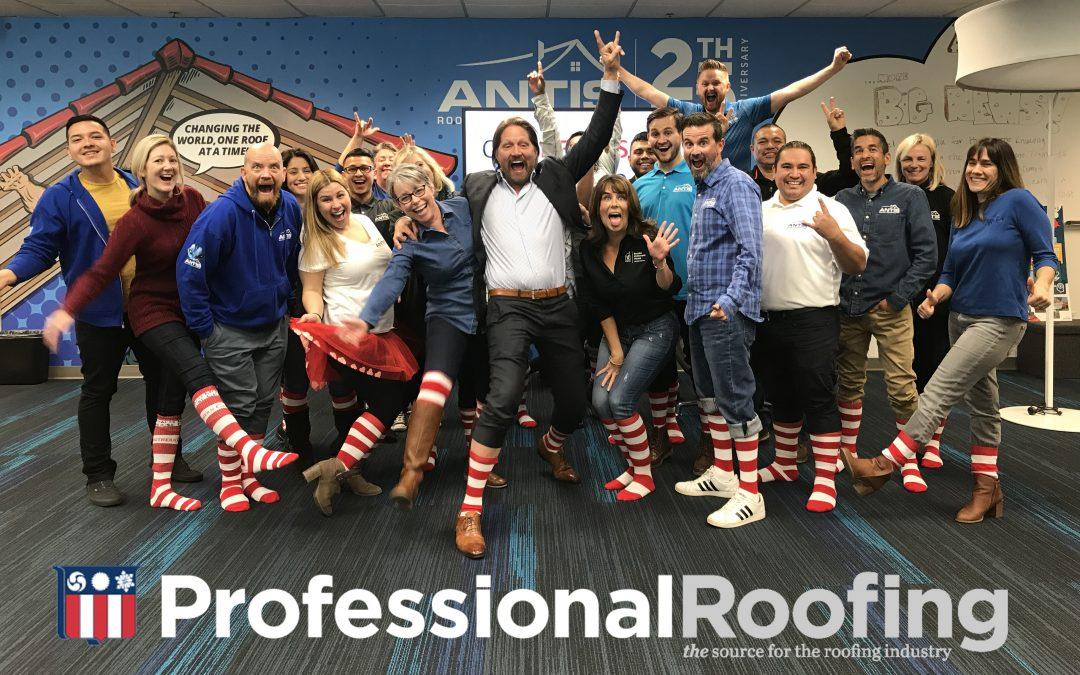 An industry treasure – Professional Roofing, Dec. 2018