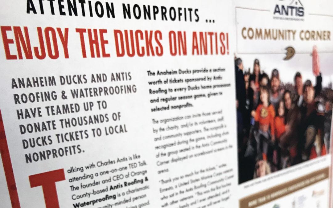 Antis Community Corner in OC Register