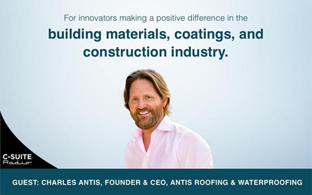 Charles Antis on Specified: Building Materials Innovation Podcast