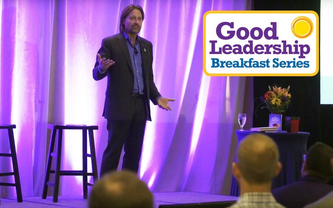 Charles Antis at Good Leadership Breakfast