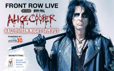 """Antis Roofing Teams with KLOS-FM for """"Front Row Live"""" with Alice Cooper Halloween Night"""
