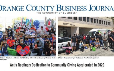 Antis Roofing's Dedication to Community Giving Accelerated in 2020