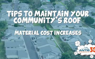 Tips to Maintain Your Community's Roof as Material Costs Increases