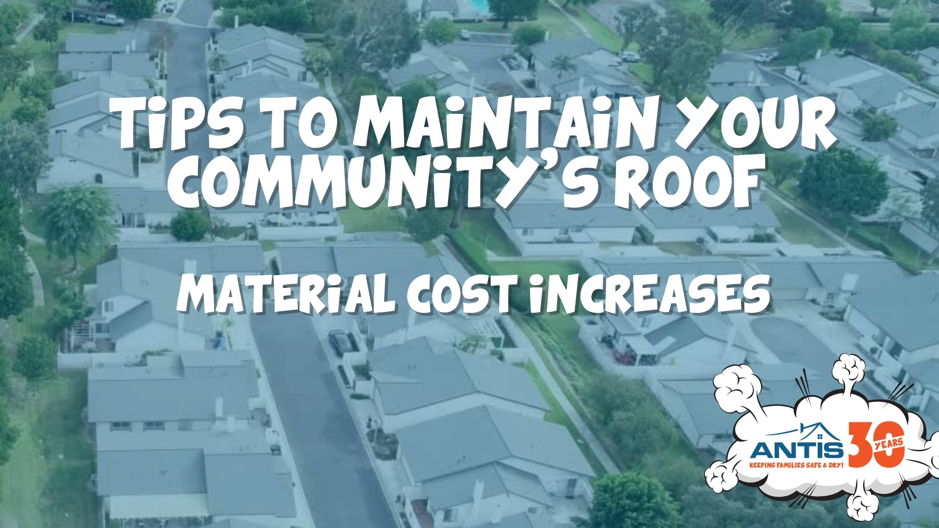 Roofing Material Costs Increases