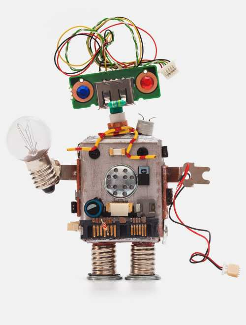 small resolution of oops 404 error page not found futuristic robot concept with electrical wire hairstyle circuits socket chip toy mechanism funny head colored eyes