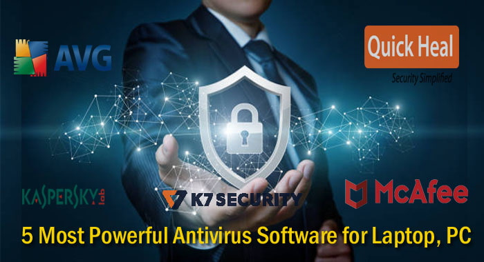 5 most powerful antivirus for laptop