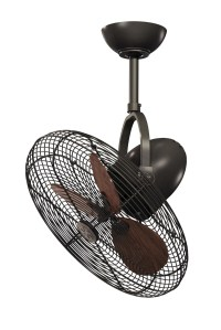 Outdoor Ceiling Fans | Cage Bronze Indoor / Outdoor ...