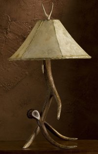 Antler Art and Design: Antler lamps, tables, chandeliers ...