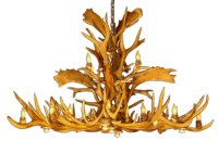 HOW TO MAKE A ANTLER CHANDELIER  Chandelier Online