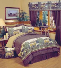 Deer Mountain Comforter Sets | Cabin and Lodge Bedding
