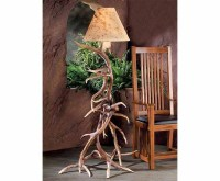 Elk Antler Floor Lamp | Antler Lamps