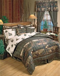 Rustic Cabin & Wildlife Bedding