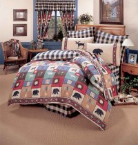 The Woods Comforter Sets | Cabin and Lodge Bedding ...