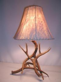 Antler Table Lamps from Antlershed Inc.