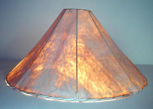Rawhide Lamp Shades