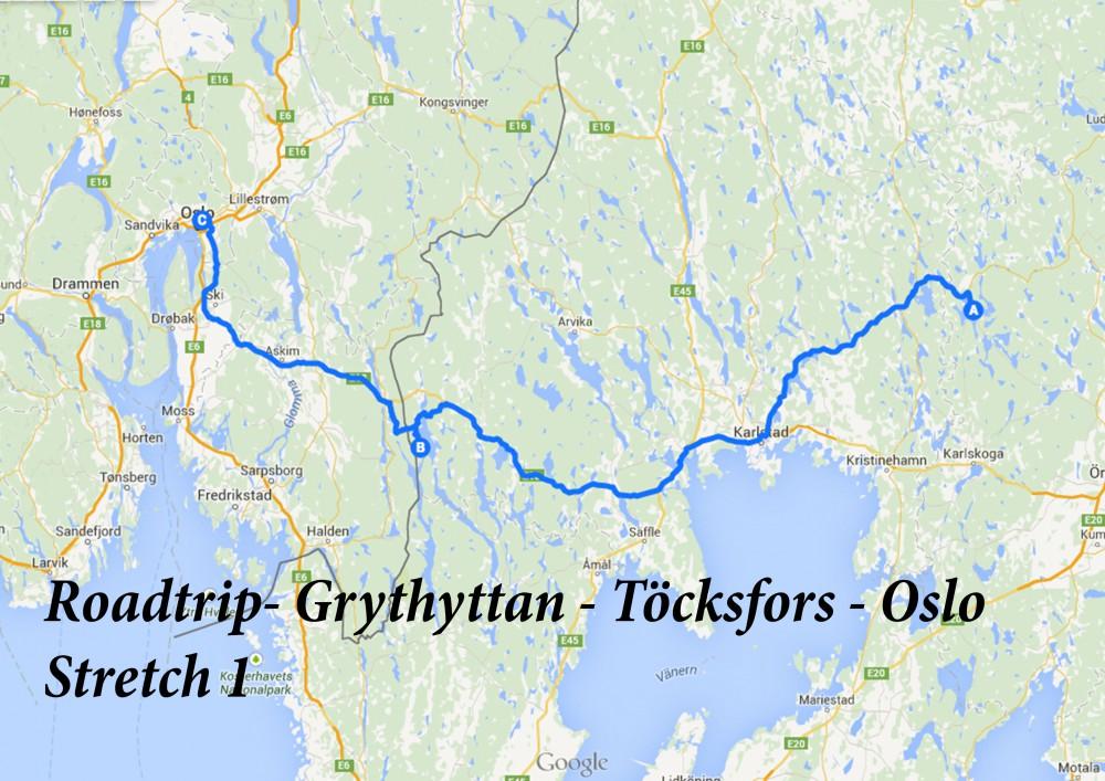 Roadtrip - Grythyttan - Oslo