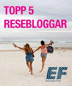 topp 5 svenska resebloggare