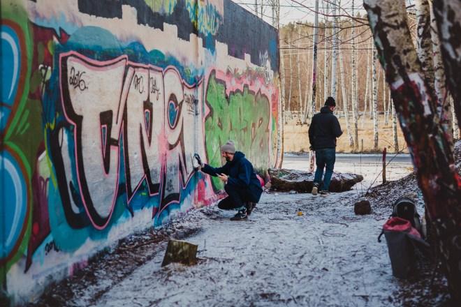 Sevärdheter i Stockholms södra förorter snösätragränd