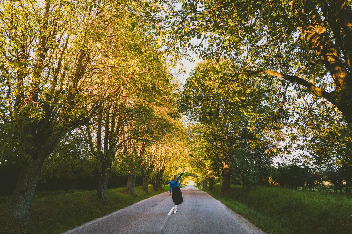 Roadtrip genom västra Lettland