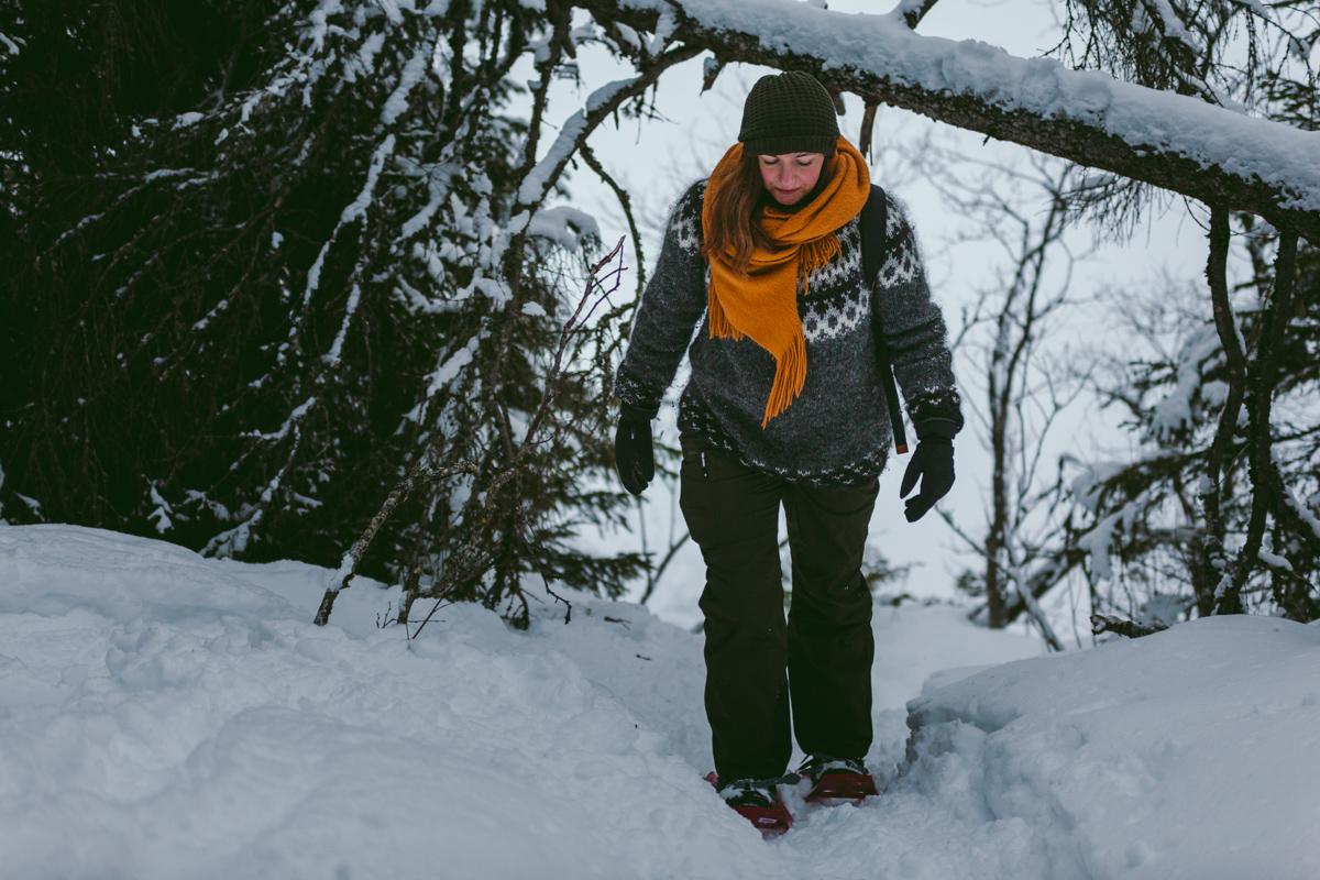 att göra i åre snöskor