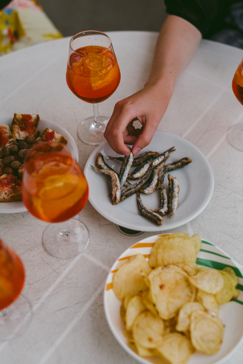 äta italienska rivieran