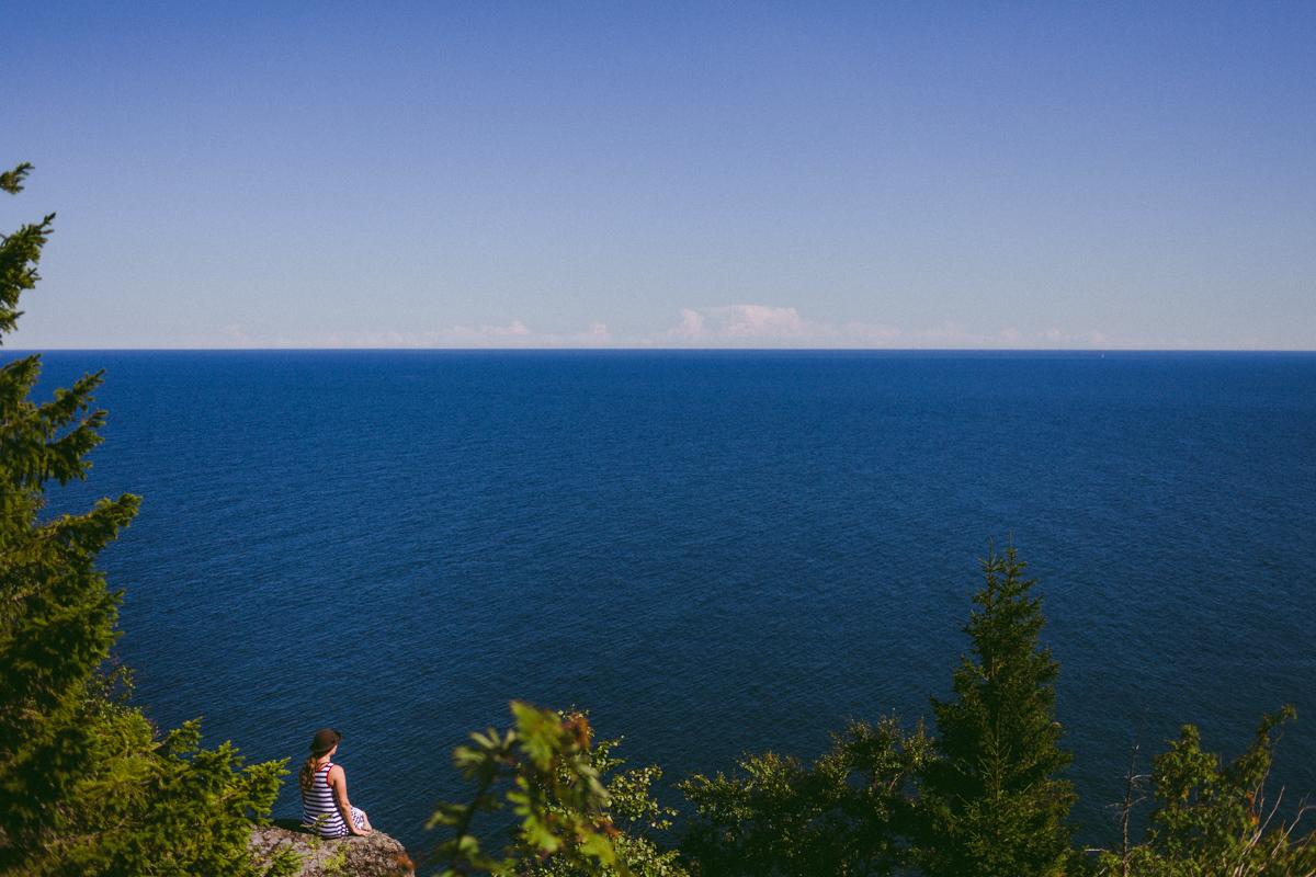 högbondens fyr sommar sverige höga kusten