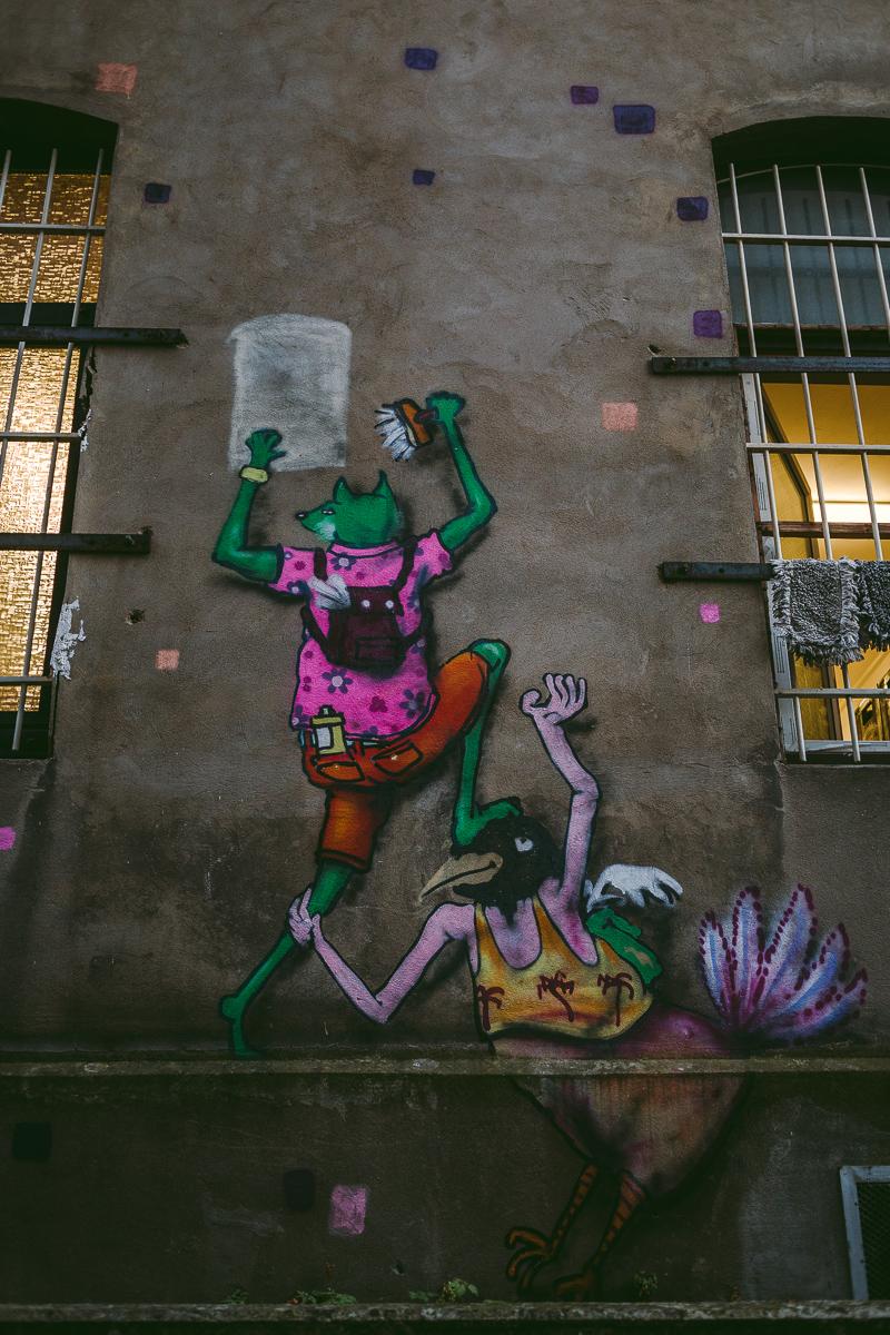 grafitti linden hannover