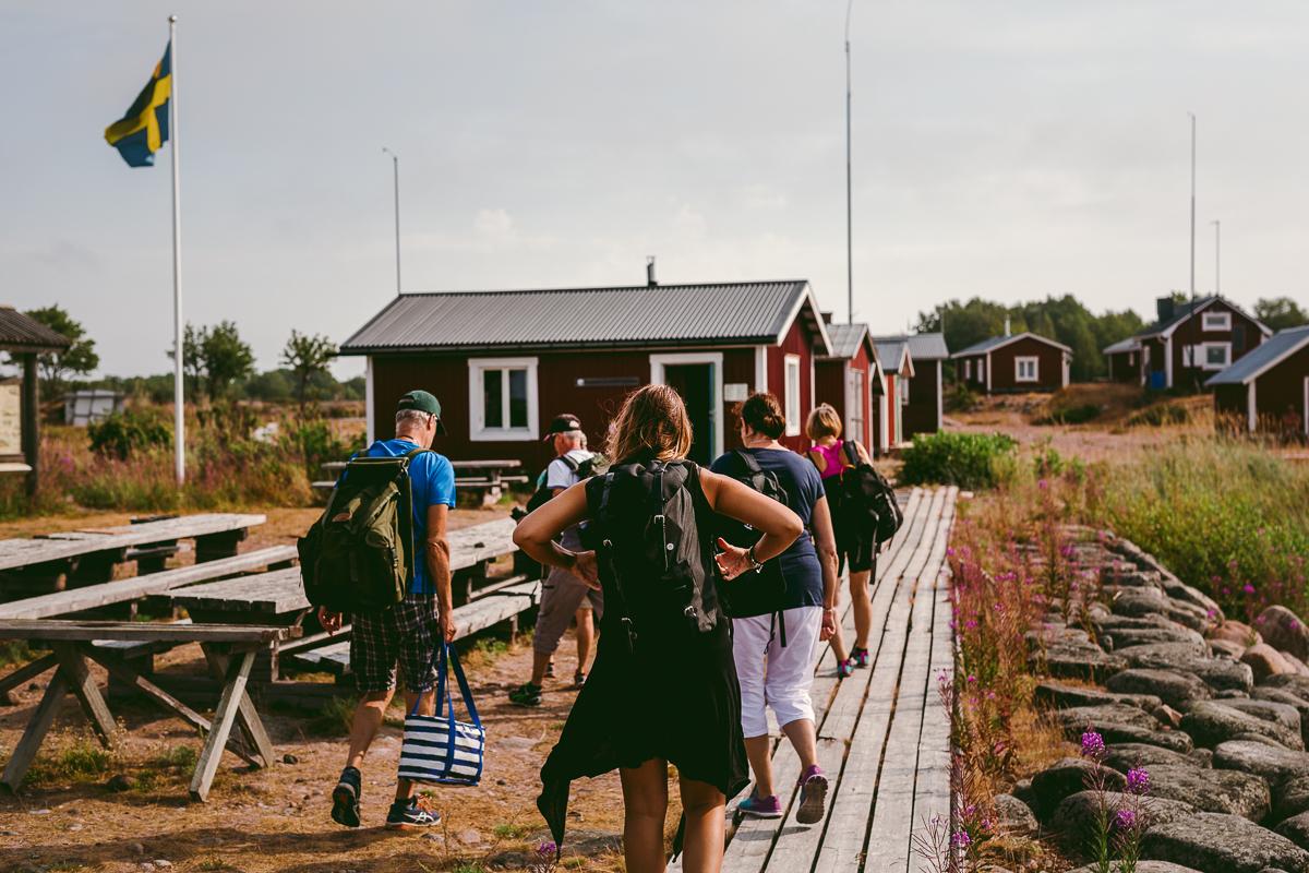 Kumpula fiskeläge Haparanda Skärgård