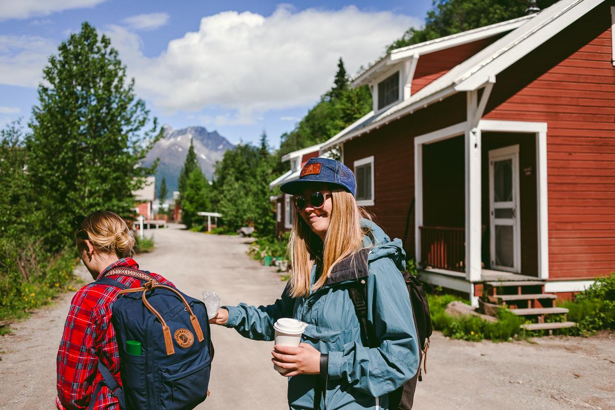 kaffe vildmark alaska övergivna platser
