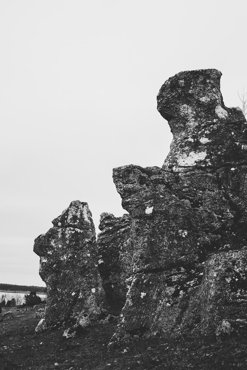 raukarna vid lergrav