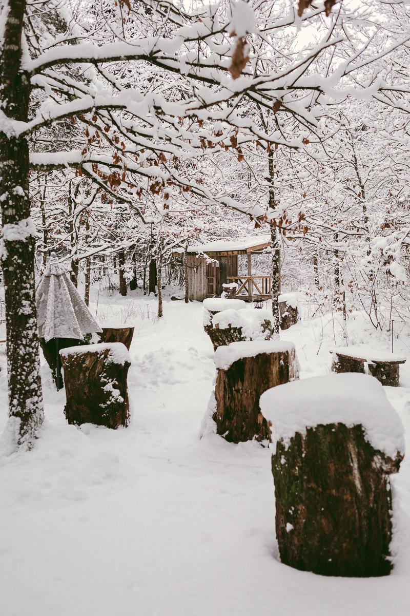 skogsgläntan thorskogs slott vinter