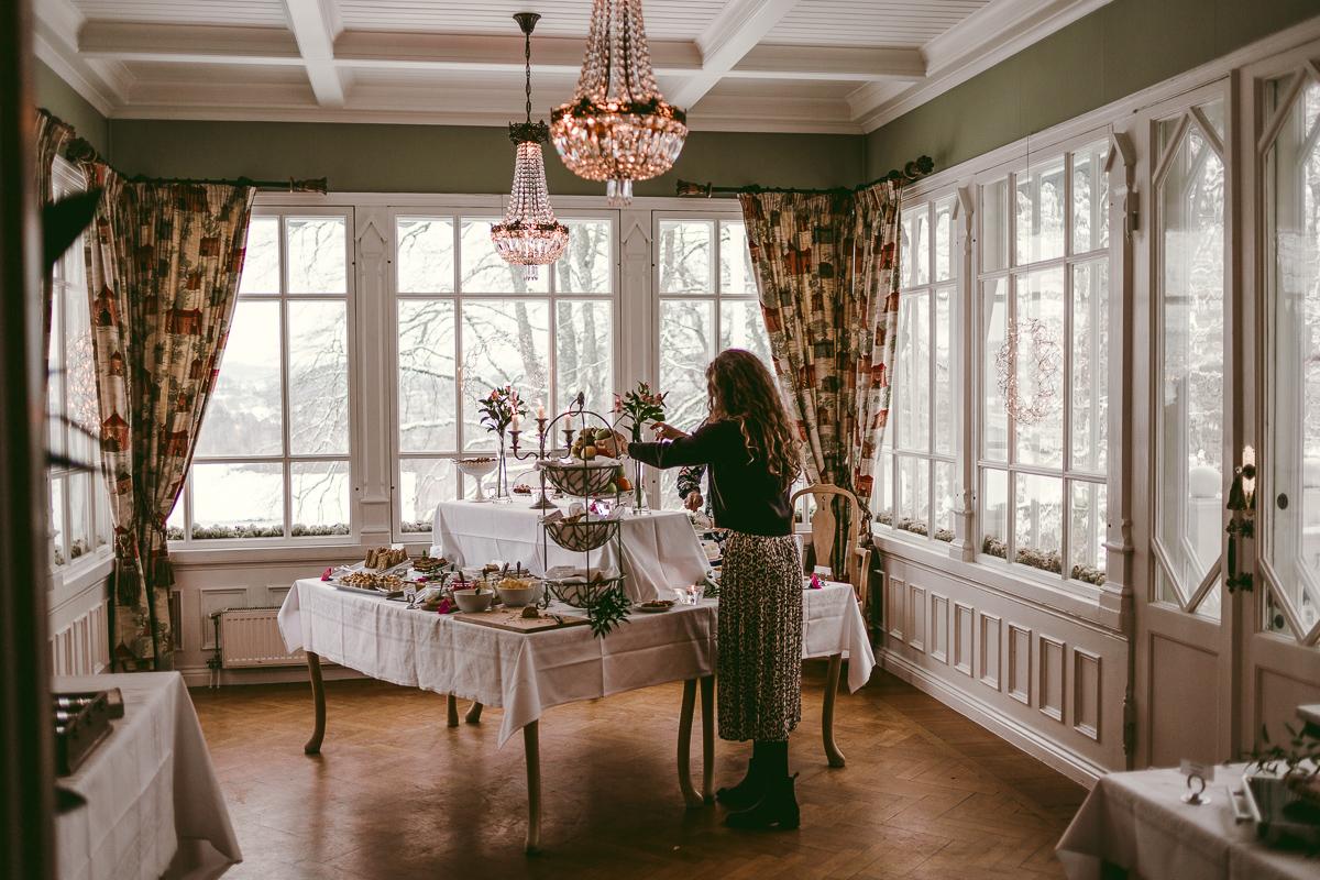 afternoon tea thorskogs slott weekend
