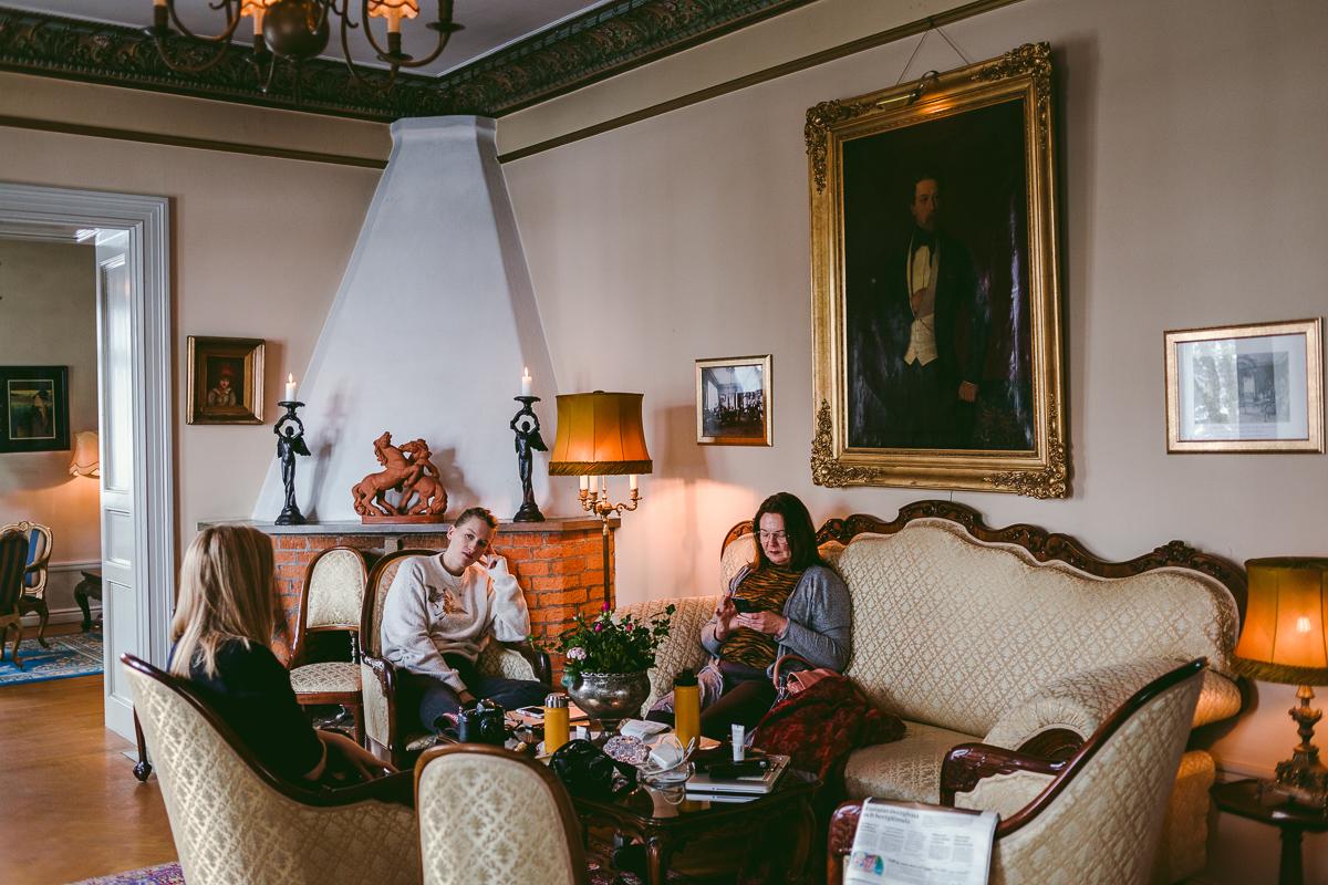 bloggarna på slottet