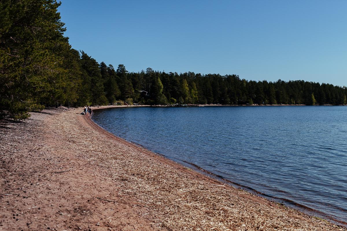 Bada i norra uppland Sandsnäs