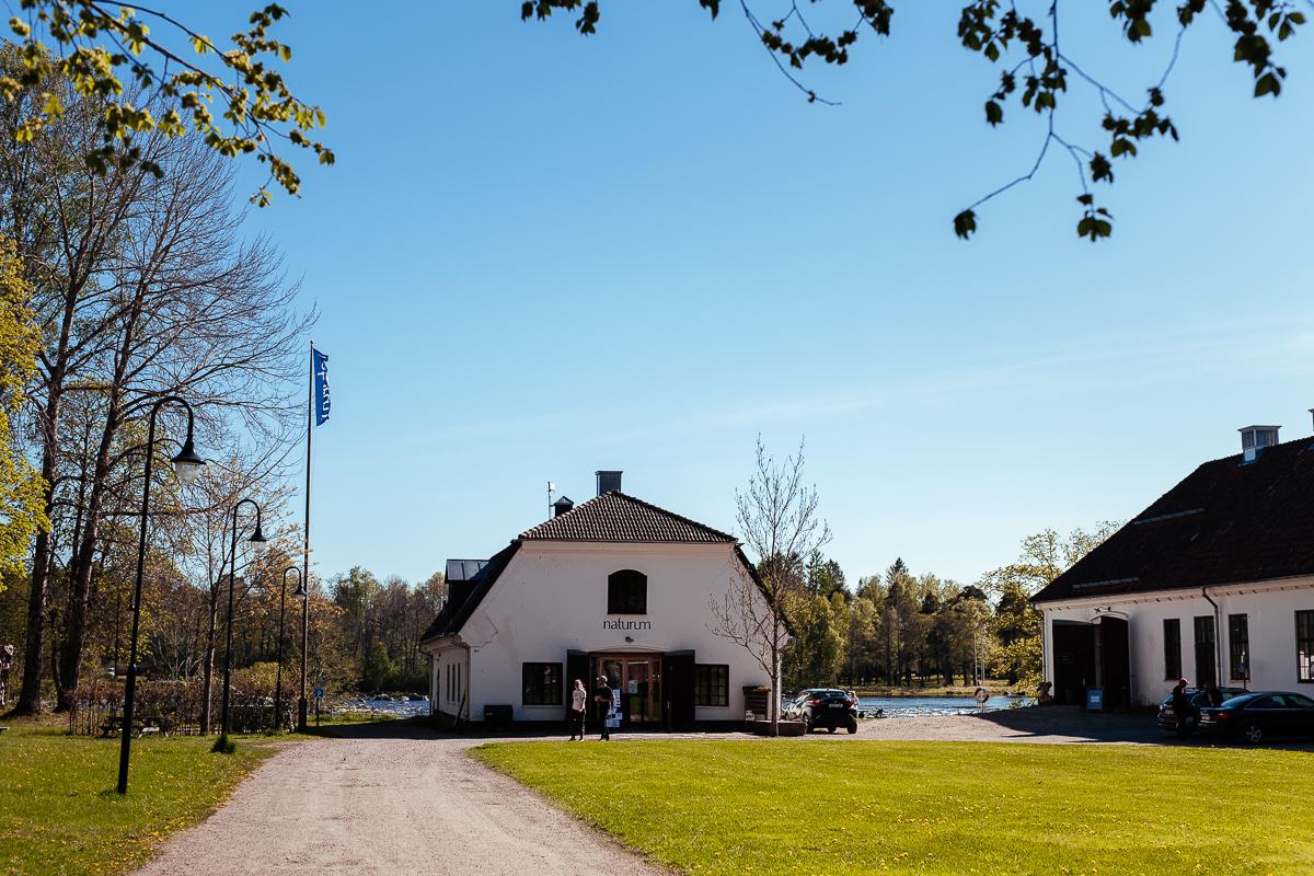 Naturum Gysinge Färnebofjärdens nationalpark
