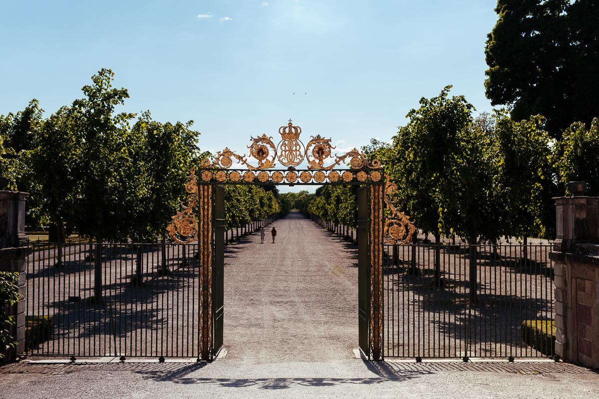 porten till trädgården drottningholm