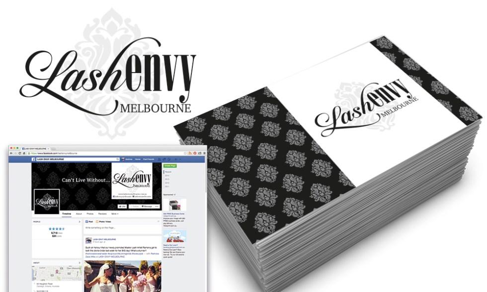 Lash Envy Logo Design