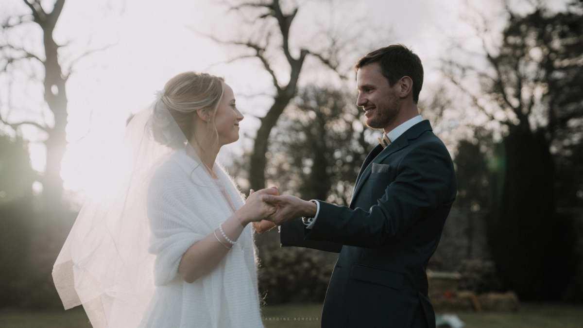 Photographe mariage domaine orangerie de lanniron quimper photo de mariage brest