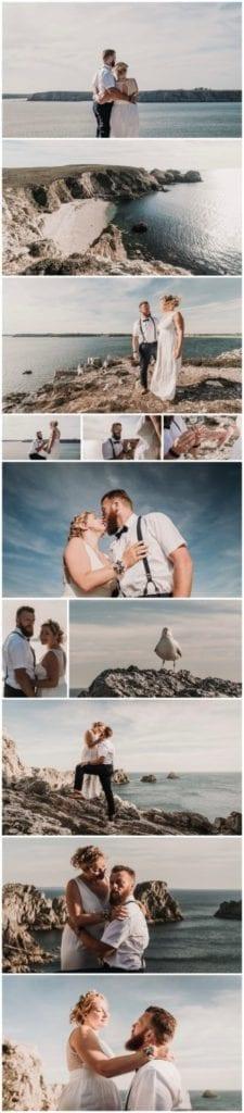 photographe filmmaker mariage bretagne presquîle de crozon