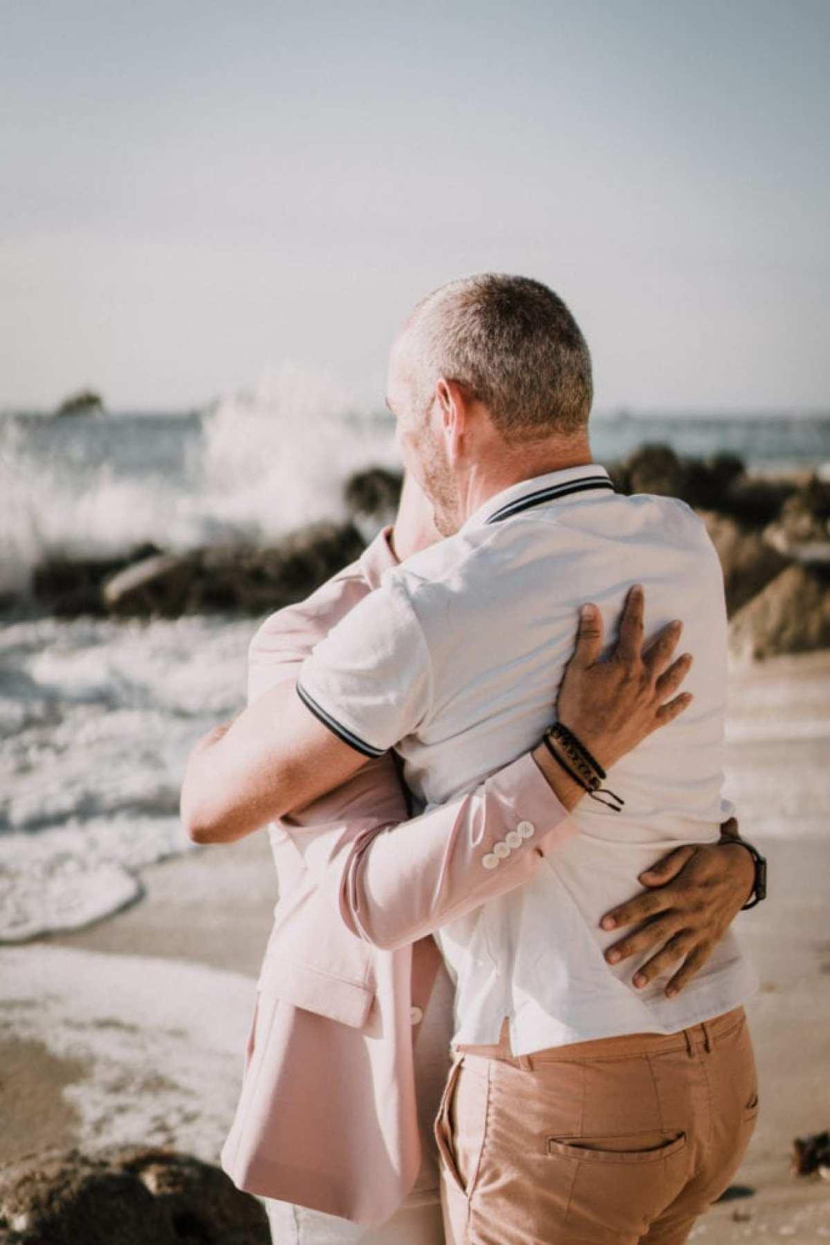 calin hommes mariage