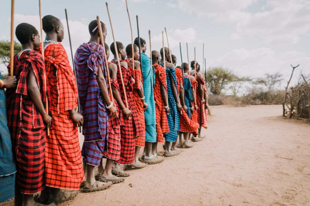 Jeune massais en tanzanie