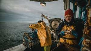 Reportage photo et vidéo à bord d'un bateau de pêche à brest